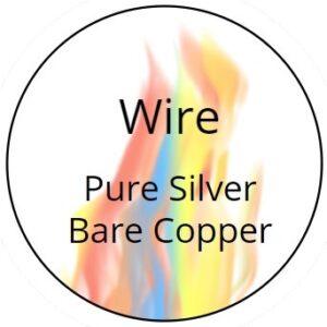Wire - Silver and Copper